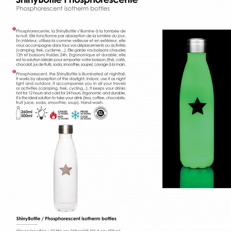 ShinyBottle phosphorescente 260-500 ml