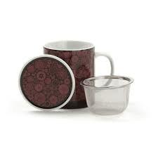 tasse rouge dammann